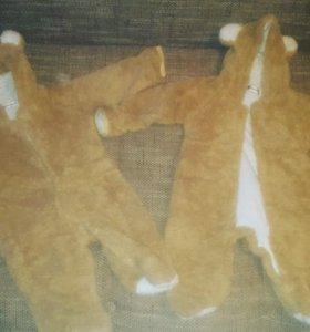 Комбинезоны медведи.размер 80