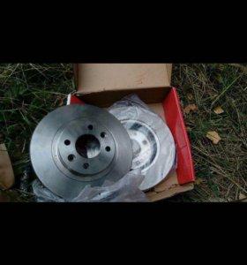Тормозные диски 259 диаметр вентилируемые на рено