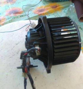 Мотор печки на Солярис