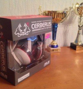 Наушники Cerberus игровые Arctic edition (новые)