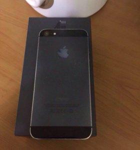 iPhone 5, Black, 16Gb