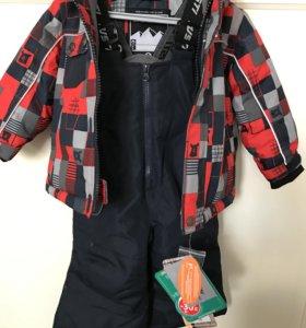 Зимний костюм для мальчика Gusti 86 р-р