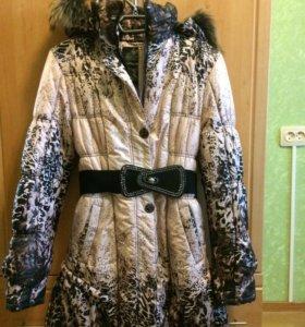 Продается зимнее пальто на девочку