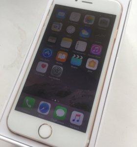 iPhone 6 gold 64 гига