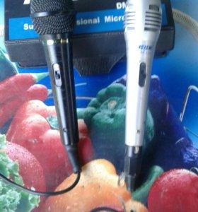 2 микрофона