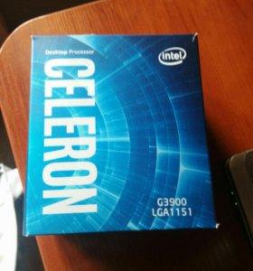 Процессор intel celeron g3900 lga 1151