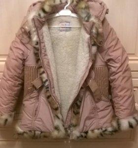 Зимняя шуба/пальто для девочек