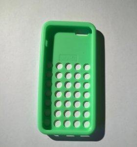 Силиконовый чехол для IPhone 5c