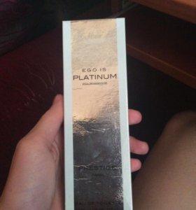 Туалетная вода Ego Is Platinum pour homme