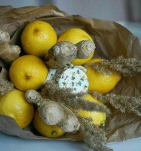 Букет из овощей и фруктов