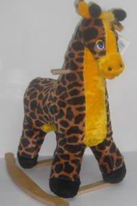 НОВАЯ Детская качалка Жираф