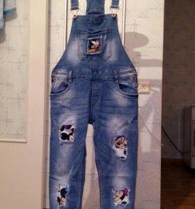 Костюм джинсовый