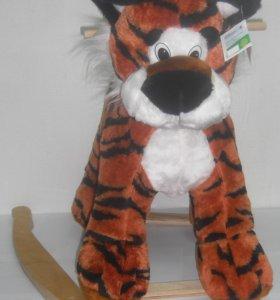 НОВАЯ Качалка. Детская качалка, Тигр.