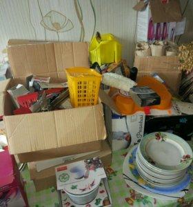Остатки посуды.