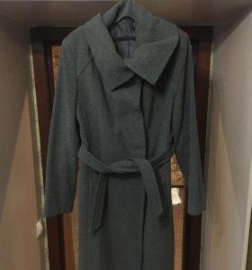 Шерстяное пальто Naf naf