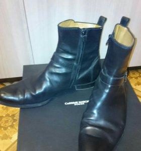 Ботинки мужские Италия натуральная кожа!!!!
