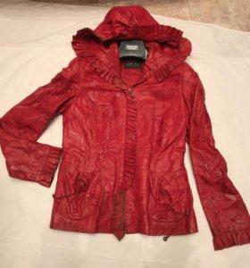 Куртка женская р44-46, натуральная кожа
