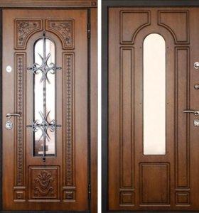 Зион Металлическая дверь Фасад 4 Элит