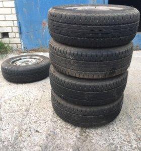 Комплект колес диски с резиной SAVA 195/65/r15