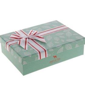 "Подарочная коробка ""Листики"""
