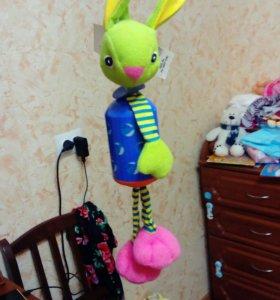 Игрушка заяц Tiny love