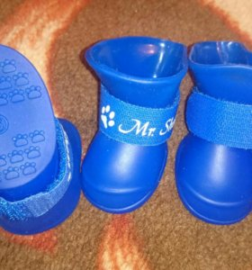 Ботинки латекс