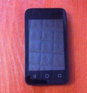 Мобильный телефон Alcatel one touch PIXI(черный)
