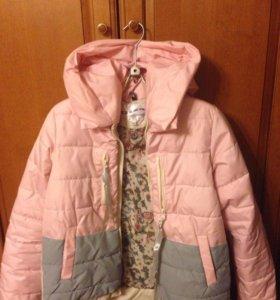 Куртка женская демисезонная новая