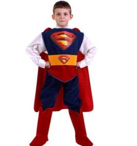 Новогодний костюм Супермен, рост 116-122