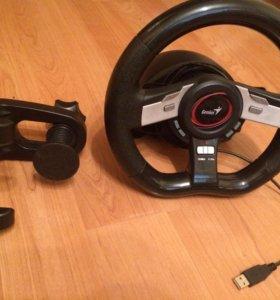 Wheel speed 5 pro, руль с кроплением и педалями