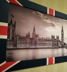 Картина Лондон 1560х880 новая