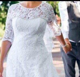свадебное платье почти даром