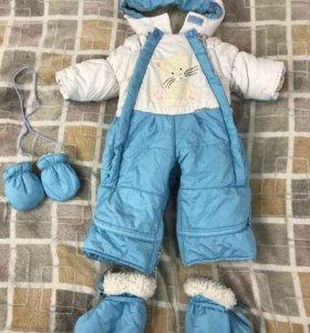 Комбинезон-трансформер для малыша