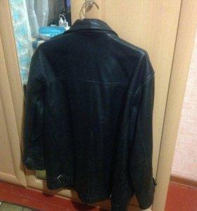 Кожаная куртка муж