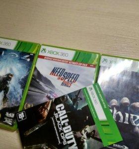 Диски на Xbox 360.