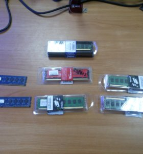 Б\У модули DDR3 в ассортименте