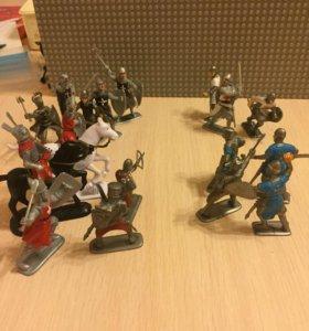 Солдатики «рыцари»