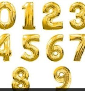 Надувная цифра 0 новая