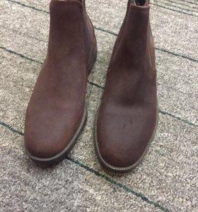 Новые мужские ботинки 43 размер(нат.кожа)
