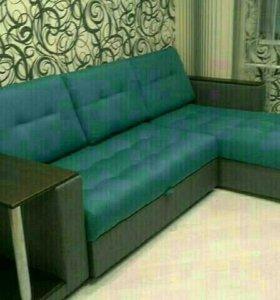 Перетяжка мягкой мебели у Вас дома или в цеху
