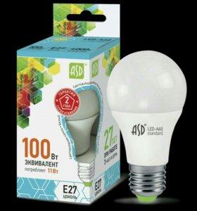 Светодиодные лампочки Е27