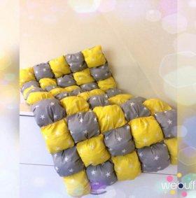 Одеялко бон бон 60х110(ручная работа новое)