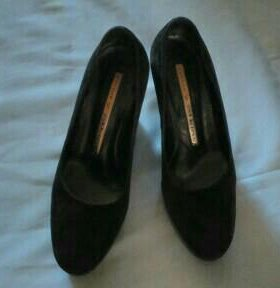 Замшевые туфли Mary Atkins