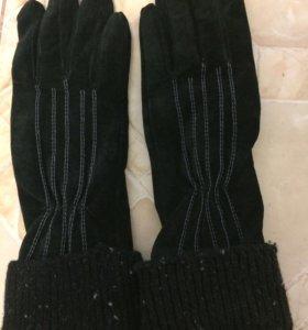 Перчатки женские. Размер 7.