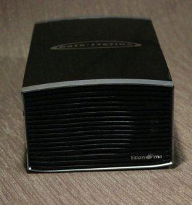 Внешний HDD бокс на 2 диска