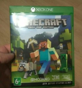 Диск Minecraft Xbox One edition+Builders pack
