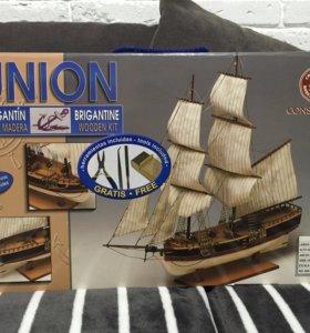 Сборная модель корабля Union Brigantine