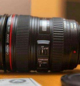 Объектив Canon EF 24-105mm f/4 L usm