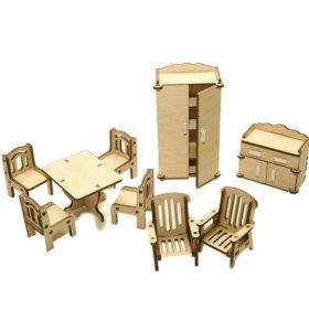 Новый набор мебели для кукол