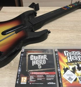 Guitar Hero набор для Sony PlayStation